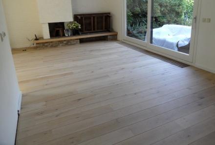 Eiken vloer behandelen. good houten vloer leggen eiken vloer met